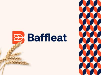 Baffleat logo design