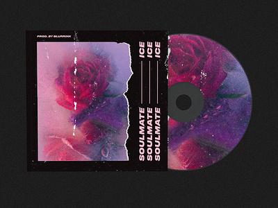 Ice - Cover art illustration art song rose typogaphy cover art cover