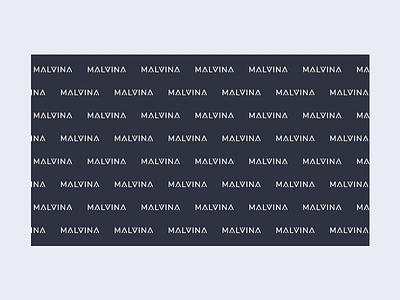 Malvina Beauty Logotype transition motion logodesign company design icon typography vector ui branding beauty rose animation agency digital color logo