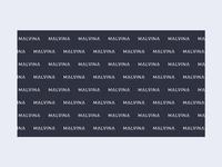 Malvina Beauty Logotype