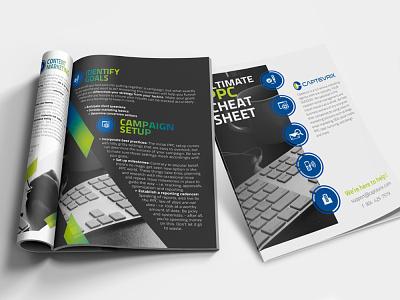 PPC Cheat Sheet digital marketing digital guide lead magnet digital design