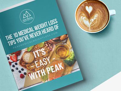 Peak Medical ebook digital guide lead generation download lead magnet digital design ebook design