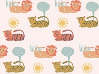 Big Cats Pattern