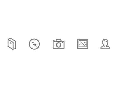 tabbar icons tabbar tab bar icons icon line book compass camera photo profile