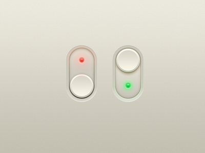 Switches switches on off ui