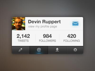Twitter Interface twitter interface ui profile avatar