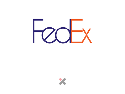 FedEx logo Redesign logo graphicdesign logodesign