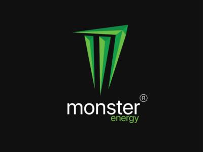 Monster Energy Logo Redesign