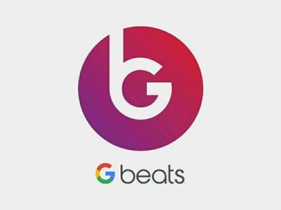 Google Beats logo concept