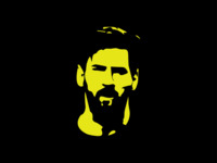 Lionel Messi vector illustration