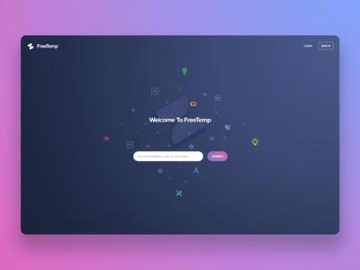Landing Page FreeTemp™