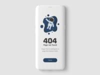 404: Error Page UI