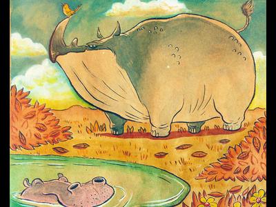 Grumpy Rhino - Happy Hippo