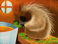 Porcupine and Peas