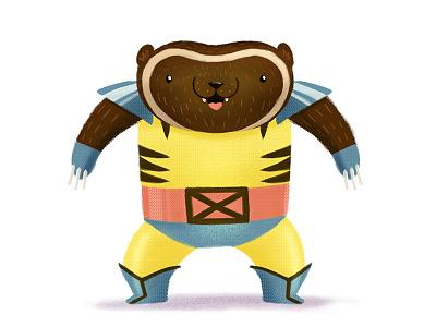 Wolverine  illustration photoshop wolverine