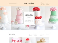 Cake Orders home page