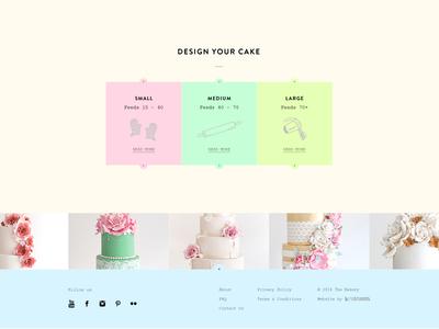 Cake Orders - footer