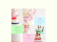Cake Orders - categories and blog