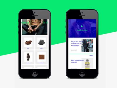 CAVALIER - responsive website design