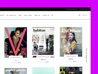 Magazines - Shop page