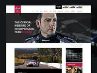 Nissan Motorsport website