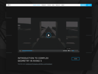 Black Spectacles — Video Player