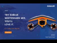 Website Banner for Sublue US
