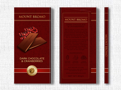 Mount Bromo Chocolate Design