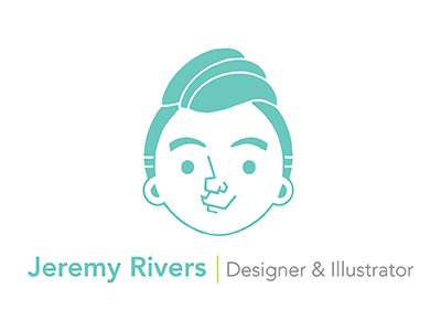 New Personal Logo By Jeremy Rivers Dribbble Dribbble
