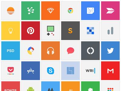 Custom OS X App .icns apps icons icns minimal tools dock