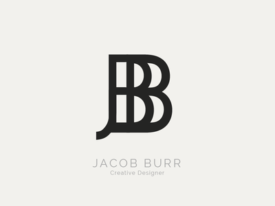 Personal Logo simple initials typography type logo logo design