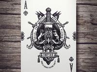 Empire Playing Cards - Ace of Spades (Kickstarter)