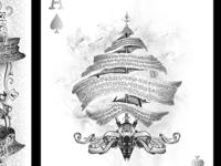 Arcane Playing Cards - White