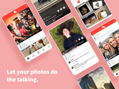Verse・A Photographic Social Media App app design design social app interface uidesign uxdesign mobile app design mobile app social media photography