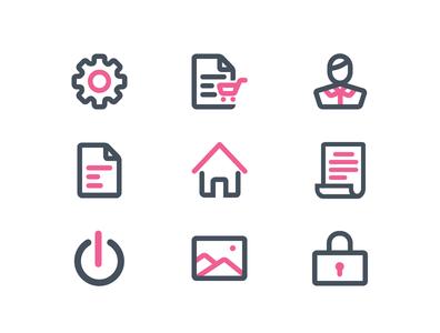 Dashboard Icon Set icon designs icon designer icon design design logo ui designer graphic design