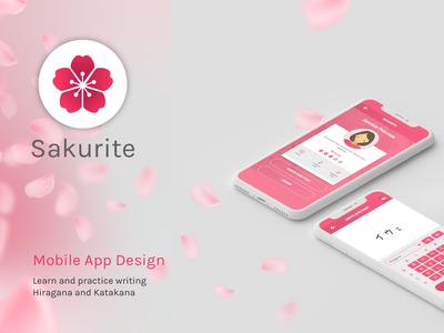 Sakurite Mobile App Design pink mobile app user interface mobile app designer mobile designer mobile application mobile app design mobile app japanese app ui web designer ui designer design illustrator graphic design
