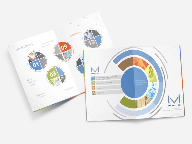 Medvision Brochure Design corporate brand identity corporate business corporate brochure corporate branding brochure design brochure design graphic design