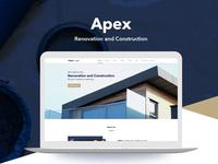 Apex Landing Page Design