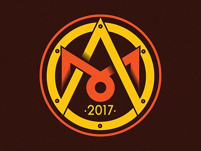 Alchemy Symbol yellow organge symbol alchemy graphicart logo logo design
