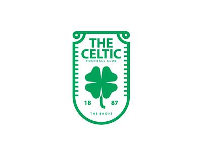 The Celtic FC diseño dribble dribbble design badge badge design logo logodesign logoinspiration dribbleshot