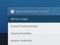 Type a keyword