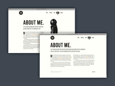 Redesign .3 minimal typography responsive