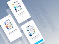 Onboarding UI Concept of seller's app