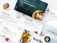 Food App Details - Presentation