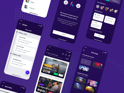 Create Event | Mobile Application ios mobileappdesign event app createevent join cards ui event flyer eventorganization event