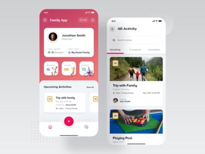Family Activity App