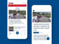 Mobile App — L'info.RE