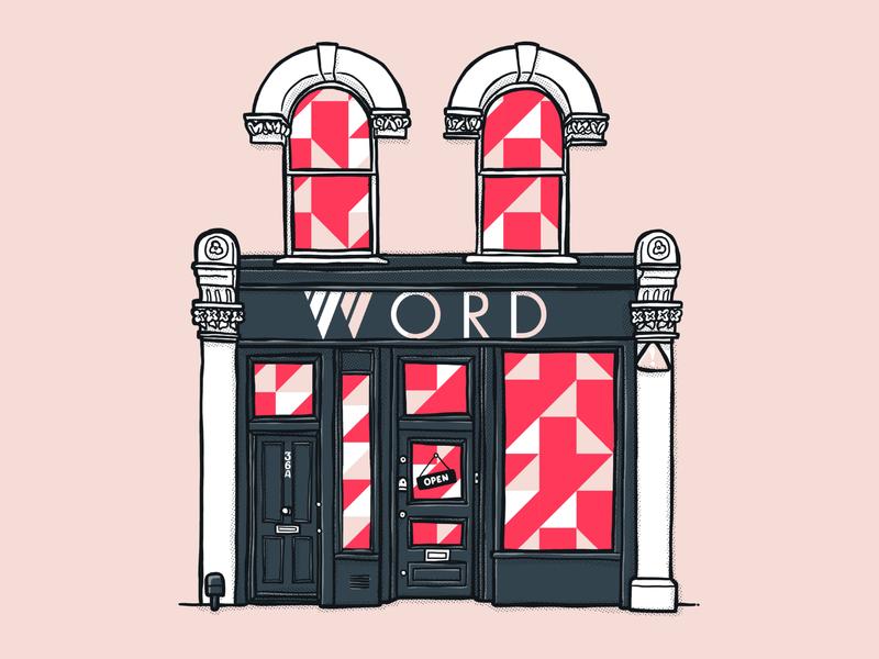 WORD - location illustration