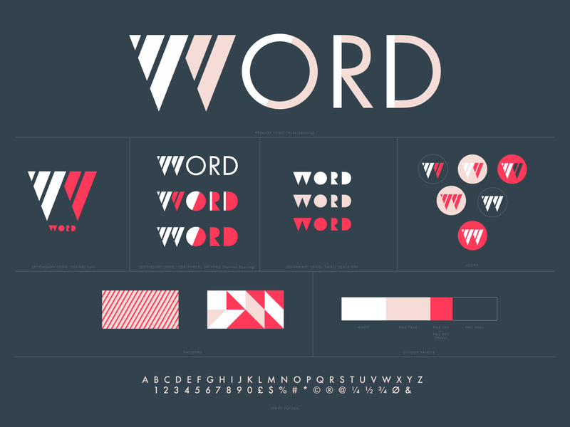 WORD - visual identity + marketing
