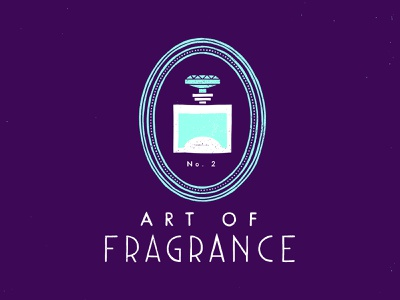 Art Of Fragrance - logo identity design logo handdrawn design